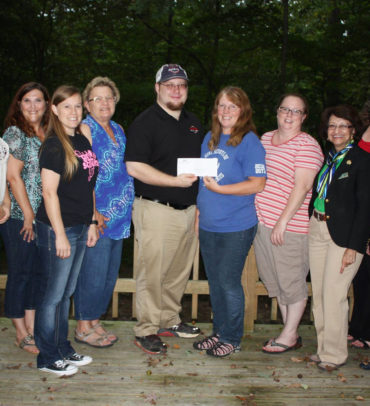 Siemer Milling makes donation to Girl Scouts