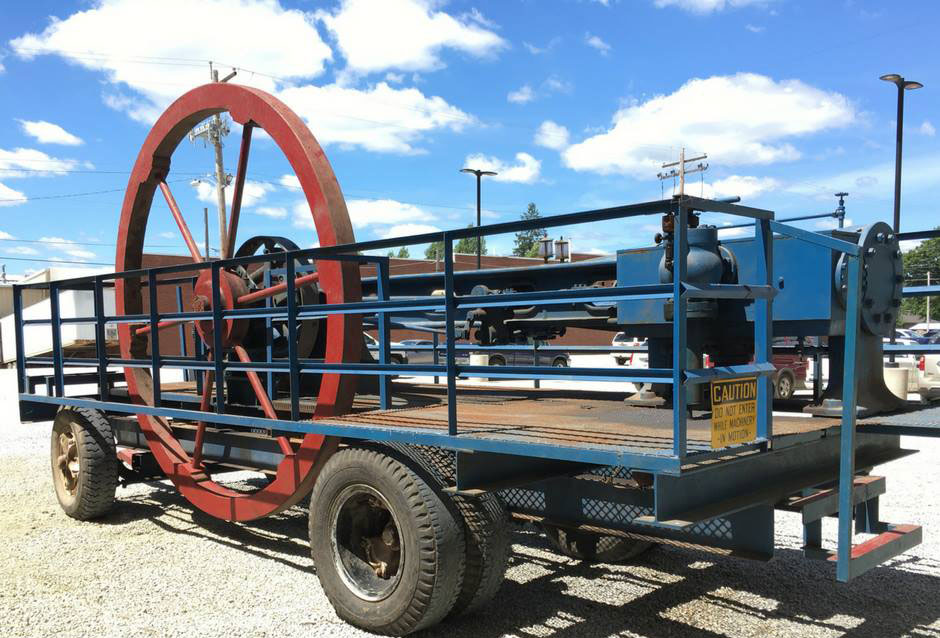 Original Mill Steam Engine returns home