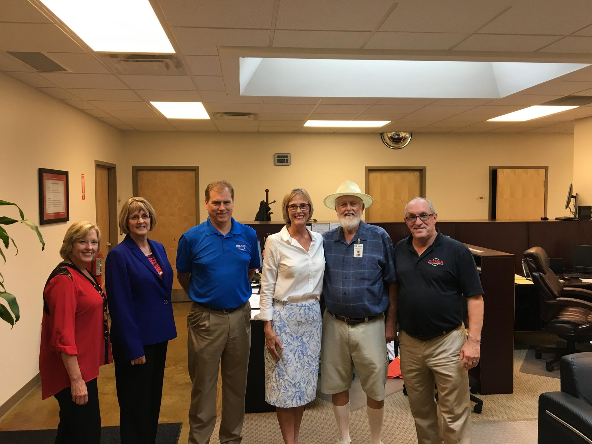 Lt. Governor Suzanne Crouch Visits Siemer Milling