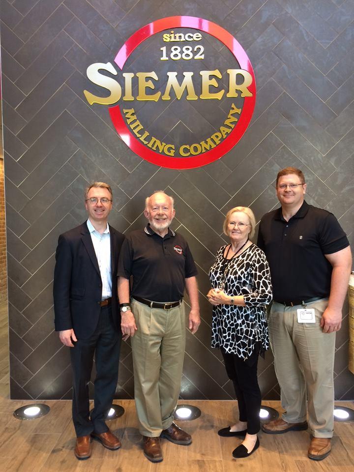 NAMA Visits Siemer Milling Teutopolis