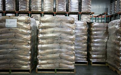 Bulk Flour on Pallet