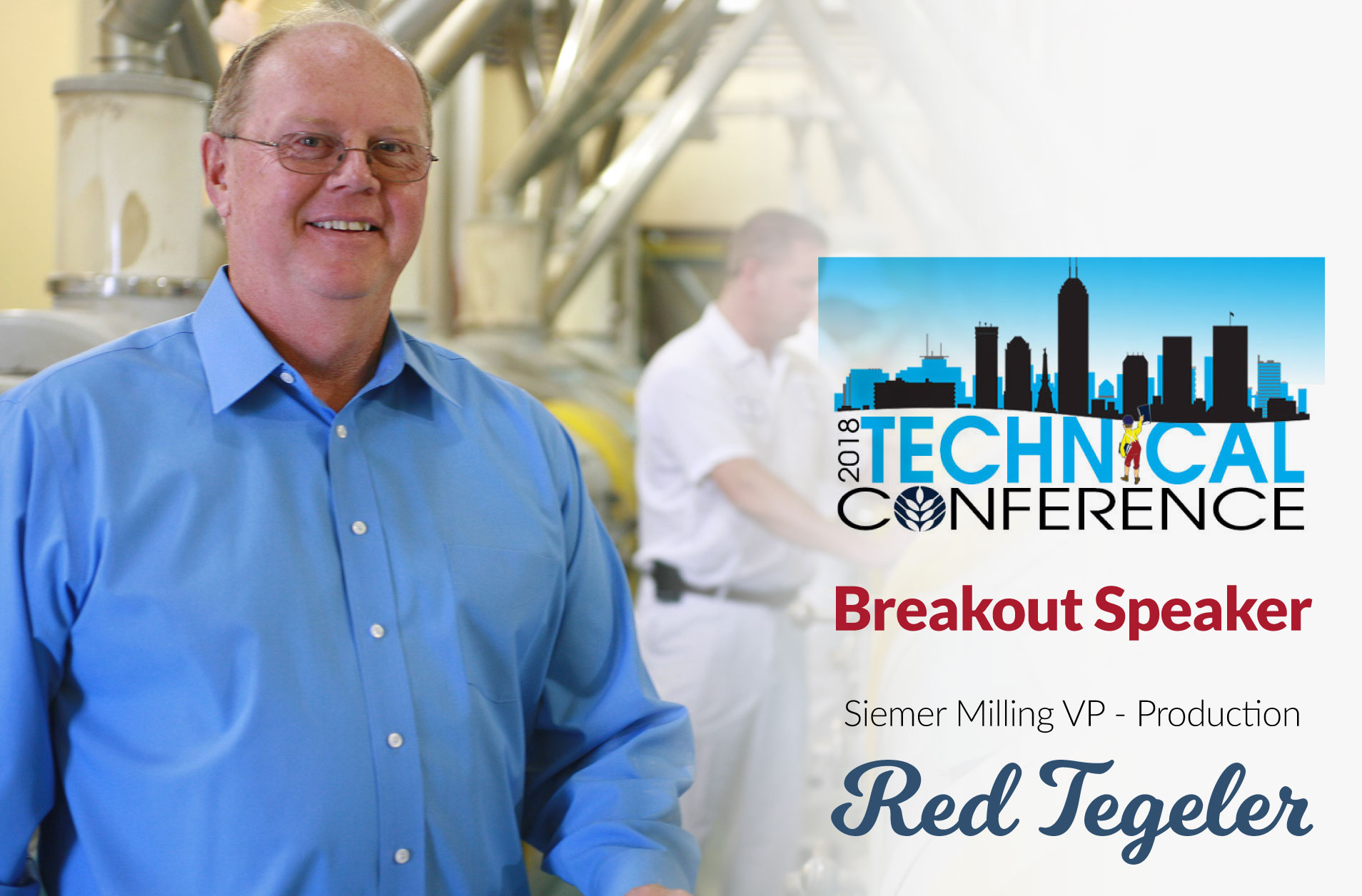 Siemer Milling's Red Tegeler to be Breakout Speaker at ABA Technical Conference
