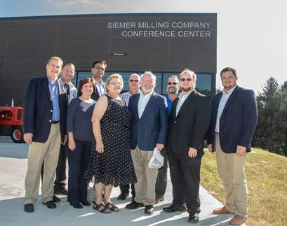 Univ. of Kentucky's Grain and Forage Center of Excellence names Conference Center, Siemer Milling Company Conference Center