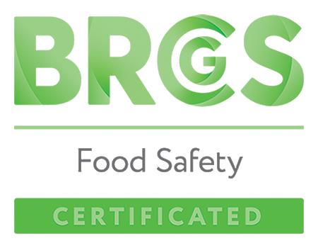 BRC Food Saftey Certified Logo