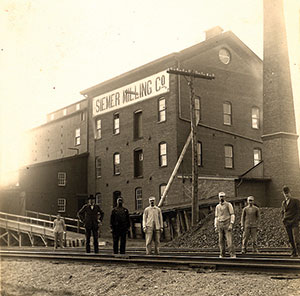 Joseph Siemer and his son, Clemens J., bought out the Uptmor interests and changed the name to Siemer Milling Company.